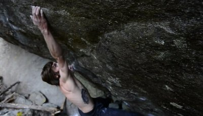 Daniel Woods on the First Ascent of La Force Tranquille